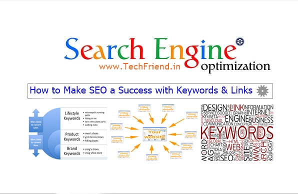 seo links and keywords