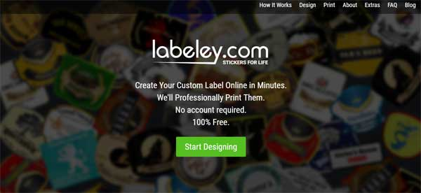 Labeley-home-page