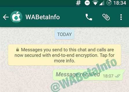 Whatsapp May Let Users counter Embracement over Deceived text