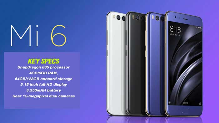 Xiaomi-Mi-6-Specs, Features, Pricing, Release Dates