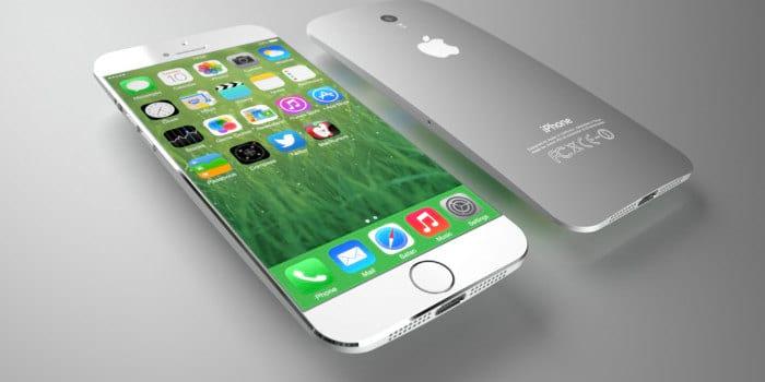 Apple iPhone 8 edge display